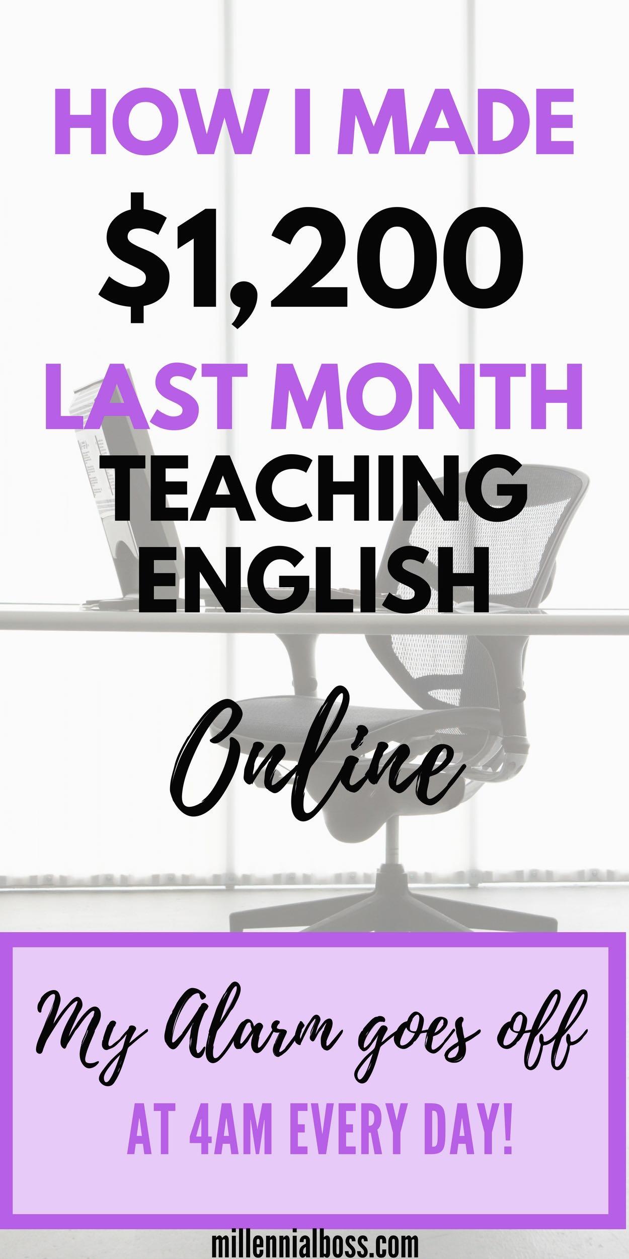 Have you considered teaching English online? I make money teaching kids how to speak English.