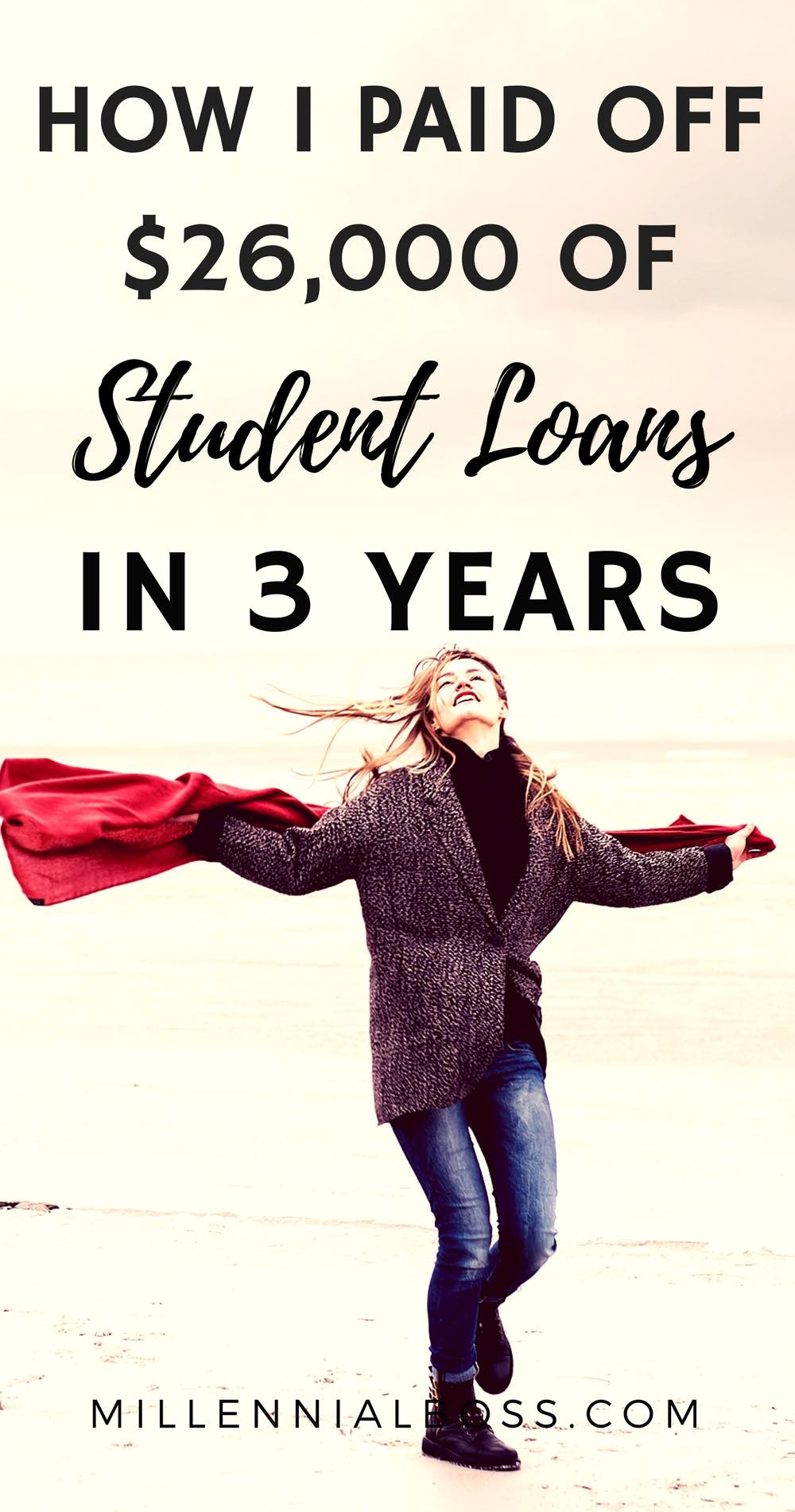I have student loan debt and found this article really helpful. I have a debt payoff action plan.