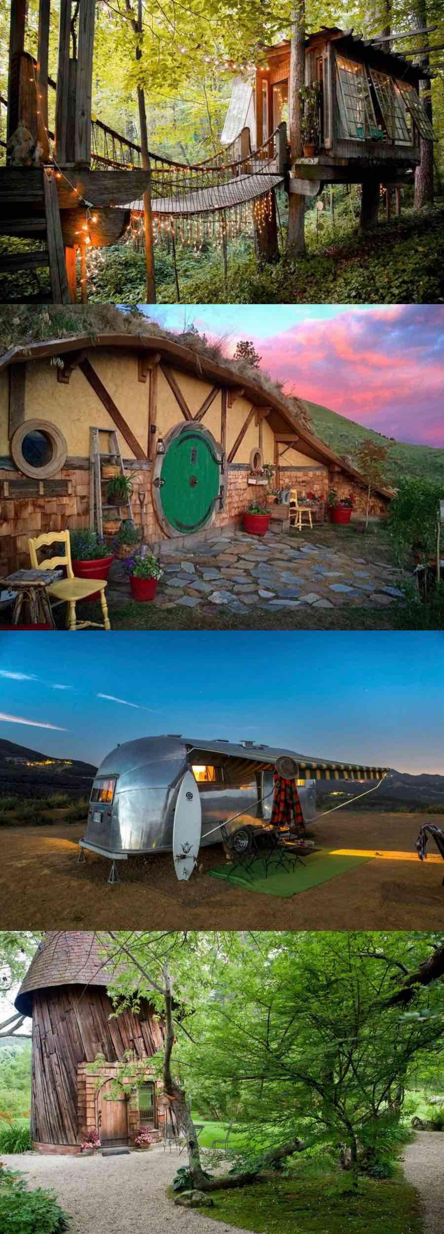 Unique Airbnb in the USA to stay at | unique airbnb ideas for a road trip