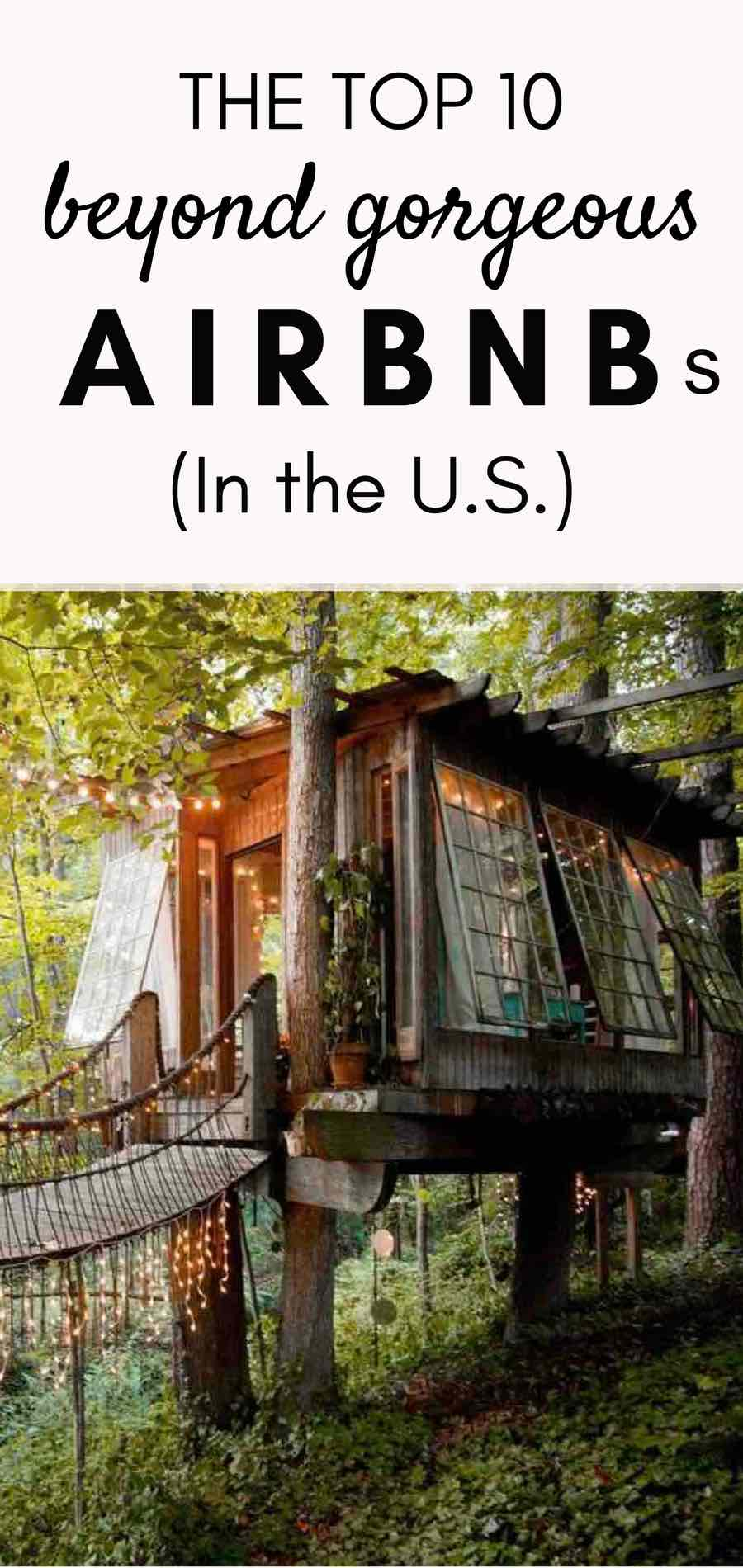 Best Airbnb United States | Top airbnbs US