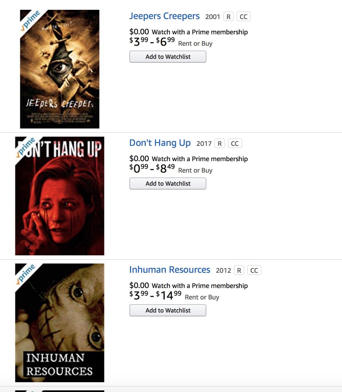Halloween Movies List 2019 (Streaming on Netflix, Hulu & Amazon Prime)