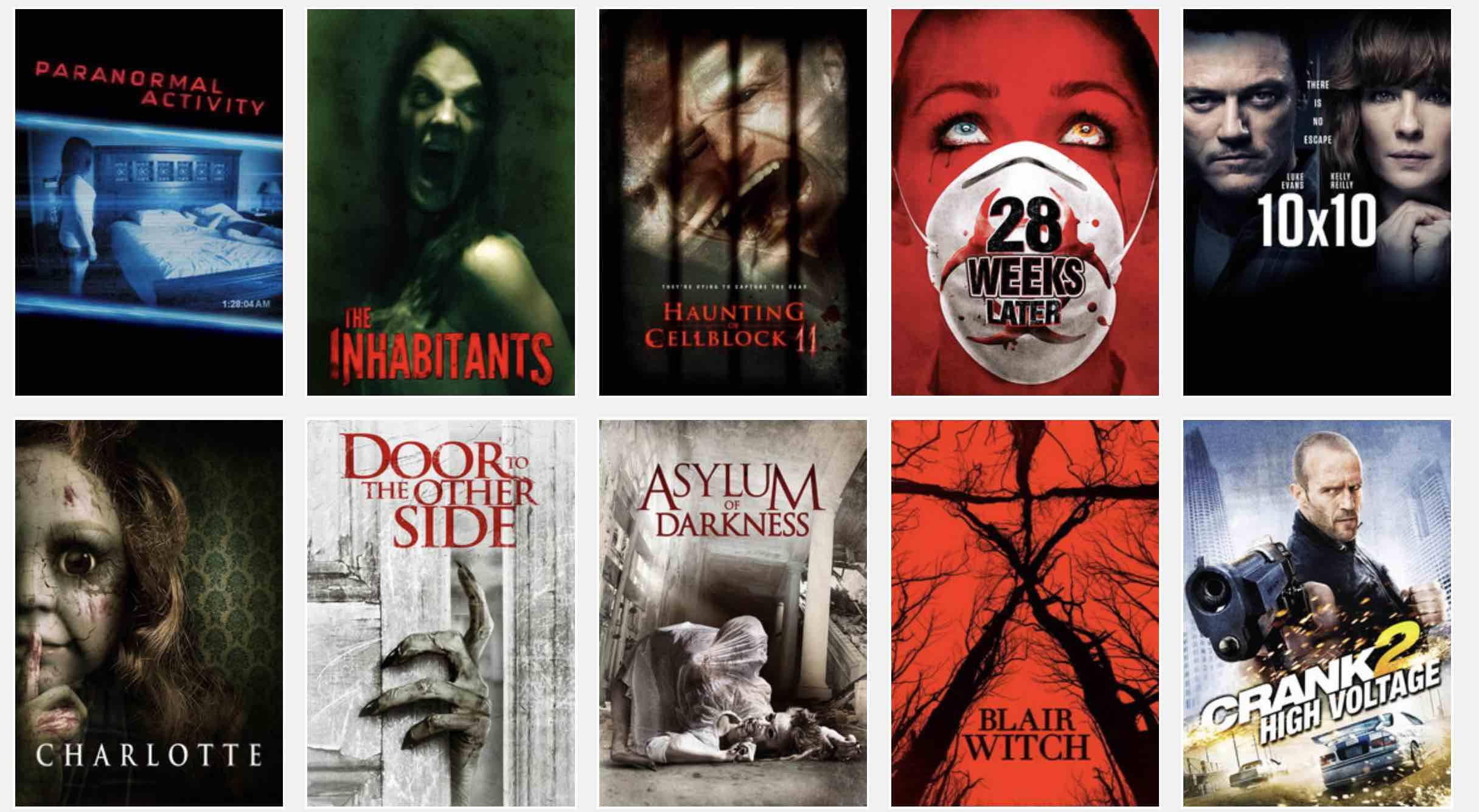 halloween movies list 2018 (streaming on netflix, hulu & amazon prime)