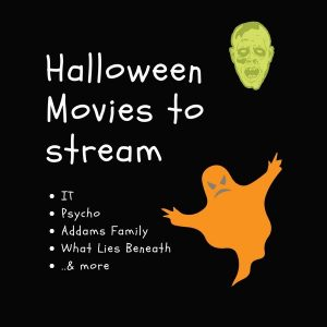 Halloween Movies I've Streamed this Month (b/c Netflix and chill is FREE)
