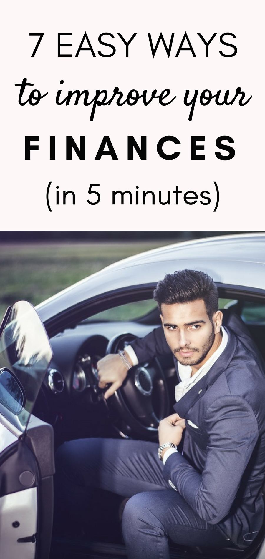 How to save more money in minutes | Financial steps to take to improve your finances (made easy)