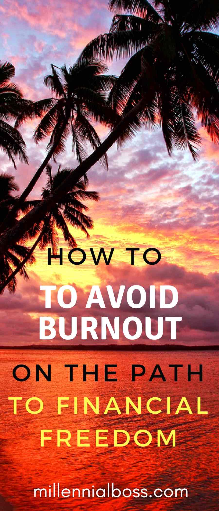 HOW CAN YOU AVOID BURNOUT ON THE PATH TO FINANCIAL FREEDOM? HOW CAN YOU FIND HAPPINESS WHILE SAVING? THE HAPPY PHILOSOPHER SHARES HIS TIPS FOR AVOIDING BURNOUT.