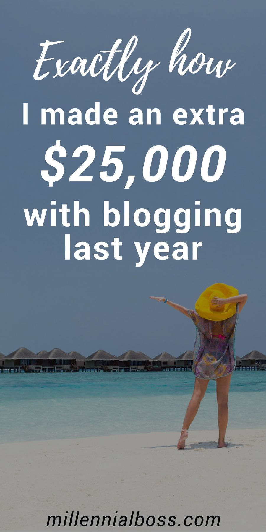 I made $25,000 blogging last year, this is exactly how I did it | blogging step by step help | blogging income report