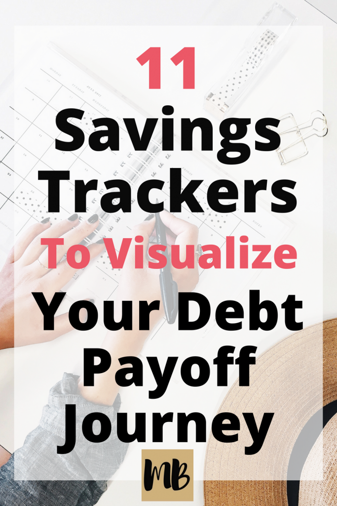 11 Savings Trackers To Visualize Your Debt Payoff Journey