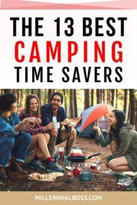 CAMPING TIME SAVERS