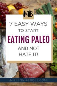 START EATING PALEO PINTEREST