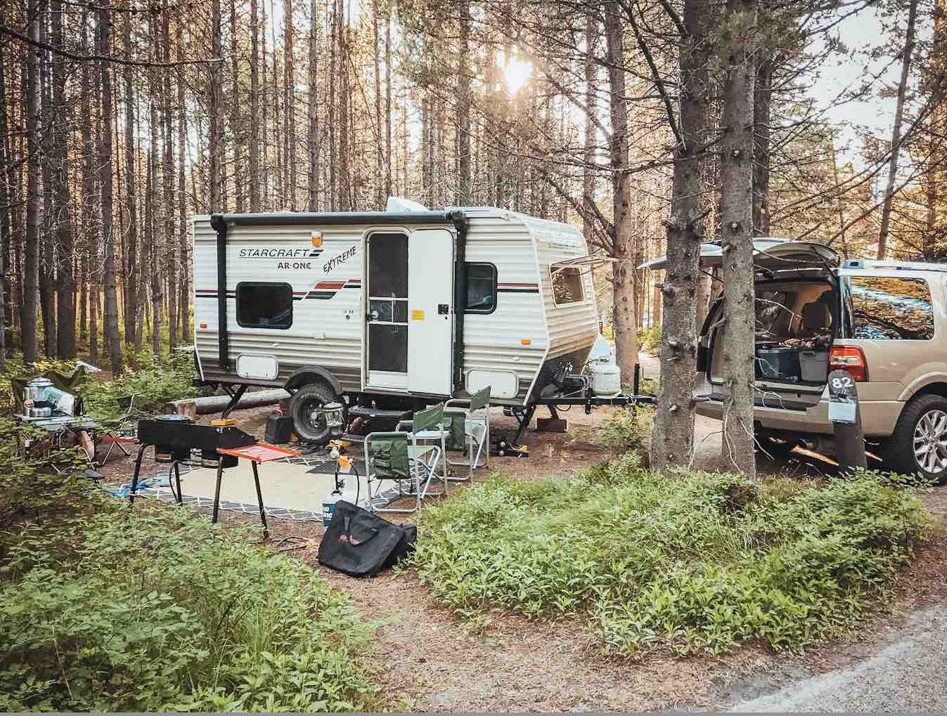 rv campground grand teton