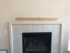 How to install a floating mantle