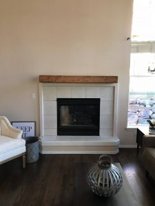 How to install a floating mantle tutorial