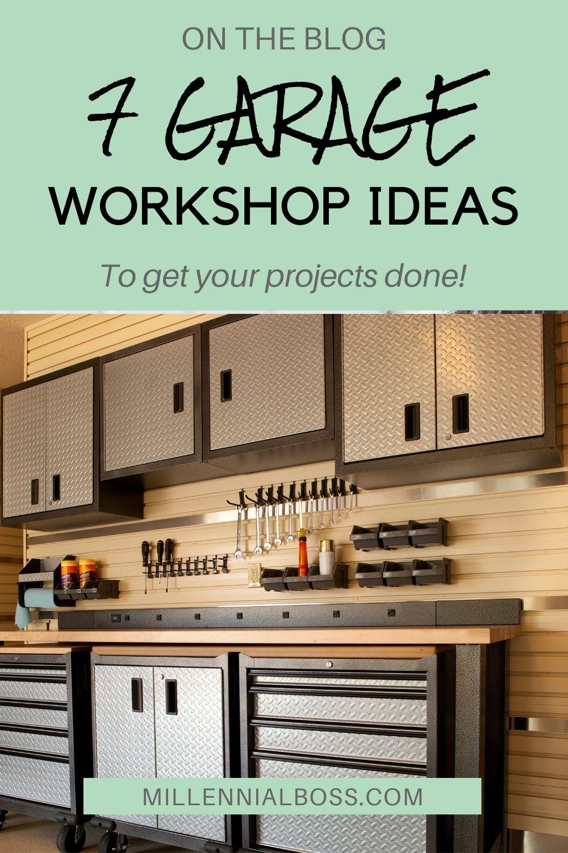 7 DIY Garage Workshop Ideas