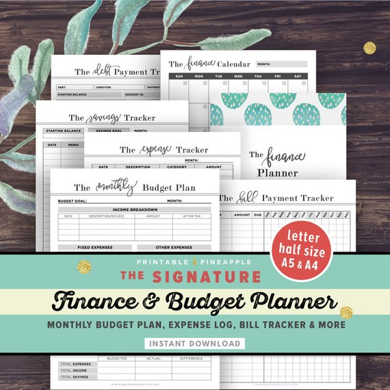 10 printable budget planners to keep you from overspending