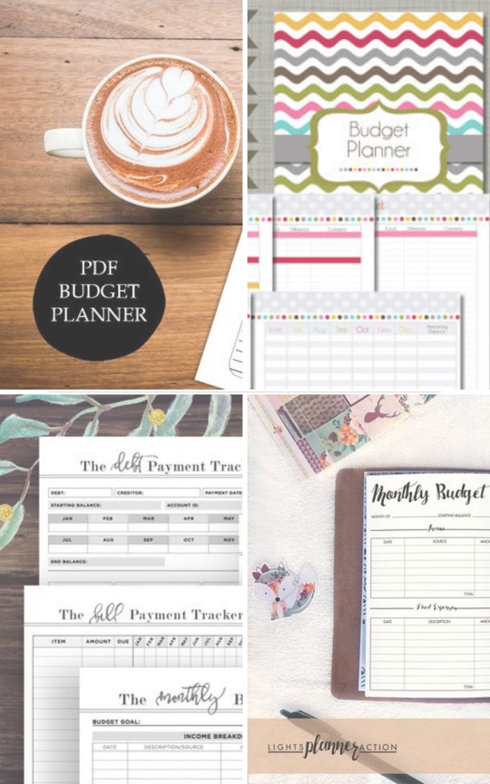 The best printable budget planners and templates #budgeting #saving #printables