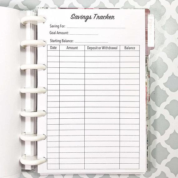 savings-tracker-happy-planner-mini