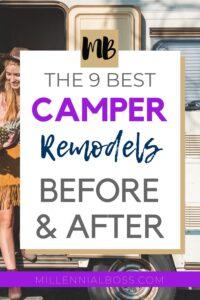 CAMPER REMODELS BEFORE AFTER