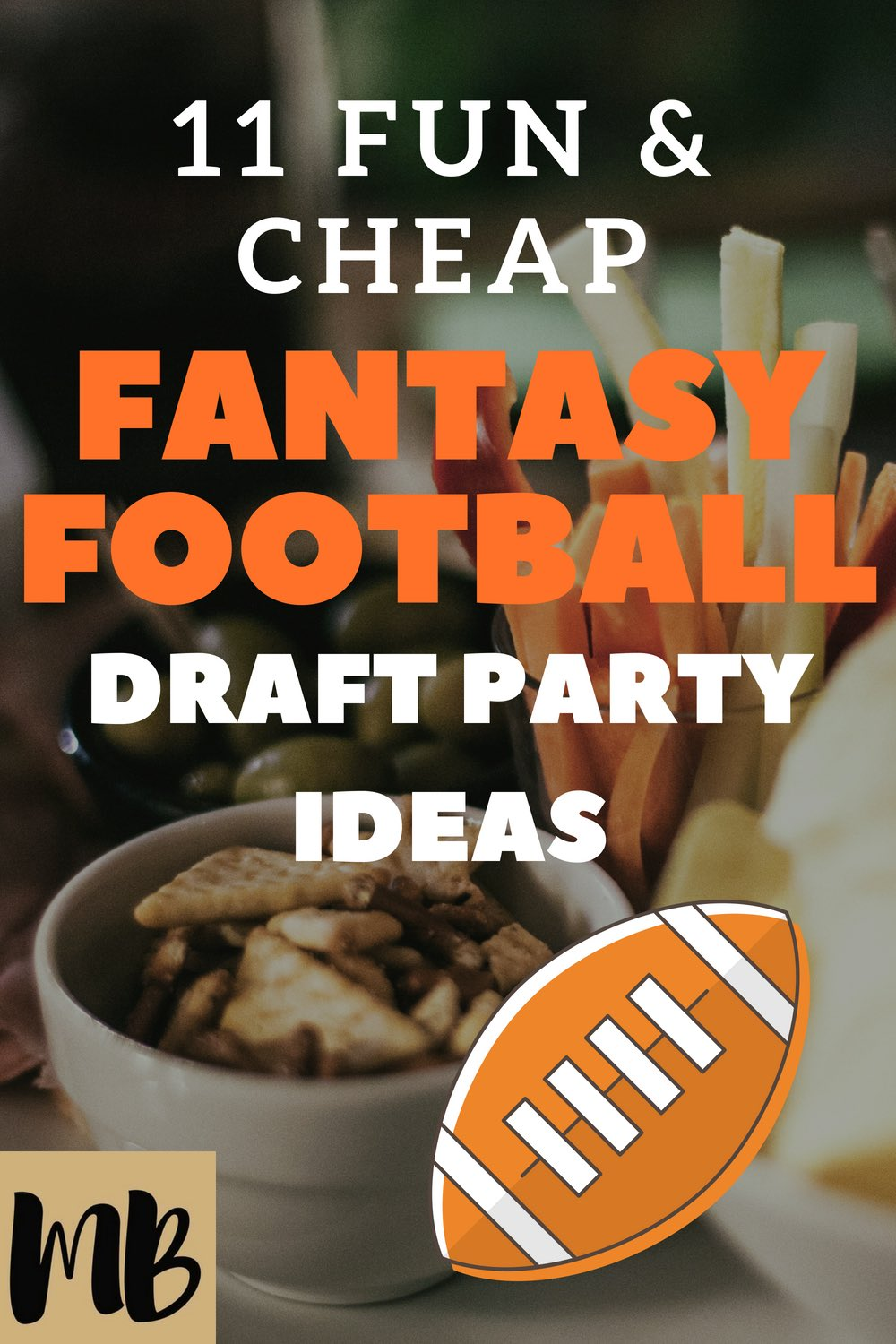 FANTASY FOOTBALL DRAFT PARTY IDEAS | FANTASY FOOTBALL PARTY | FANTASY FOOTBALL PRIZES