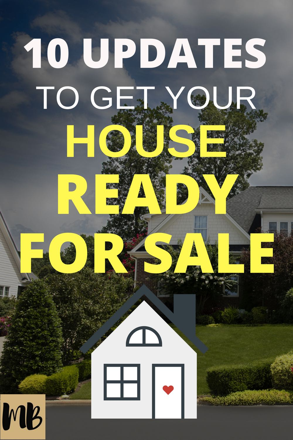 Get your house ready for sale with these 10 updates | #homesale #homerenovation #realestate