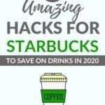 STARBUCKS DRINK HACKS