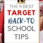 TARGET BACK TO SCHOOL TIPS