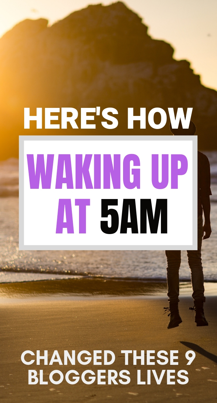 These bloggers started waking up every day at 5am and this is what happened | waking up earlier | 5am Wakeup | Miracle Morning