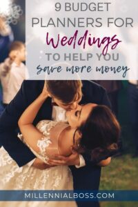budget planners weddings