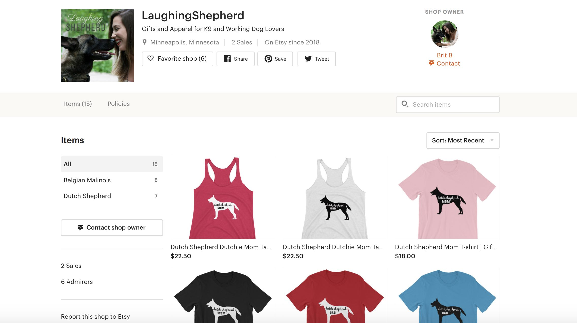 11 Etsy Shops Created in 6 Weeks for the Etsy Mastermind