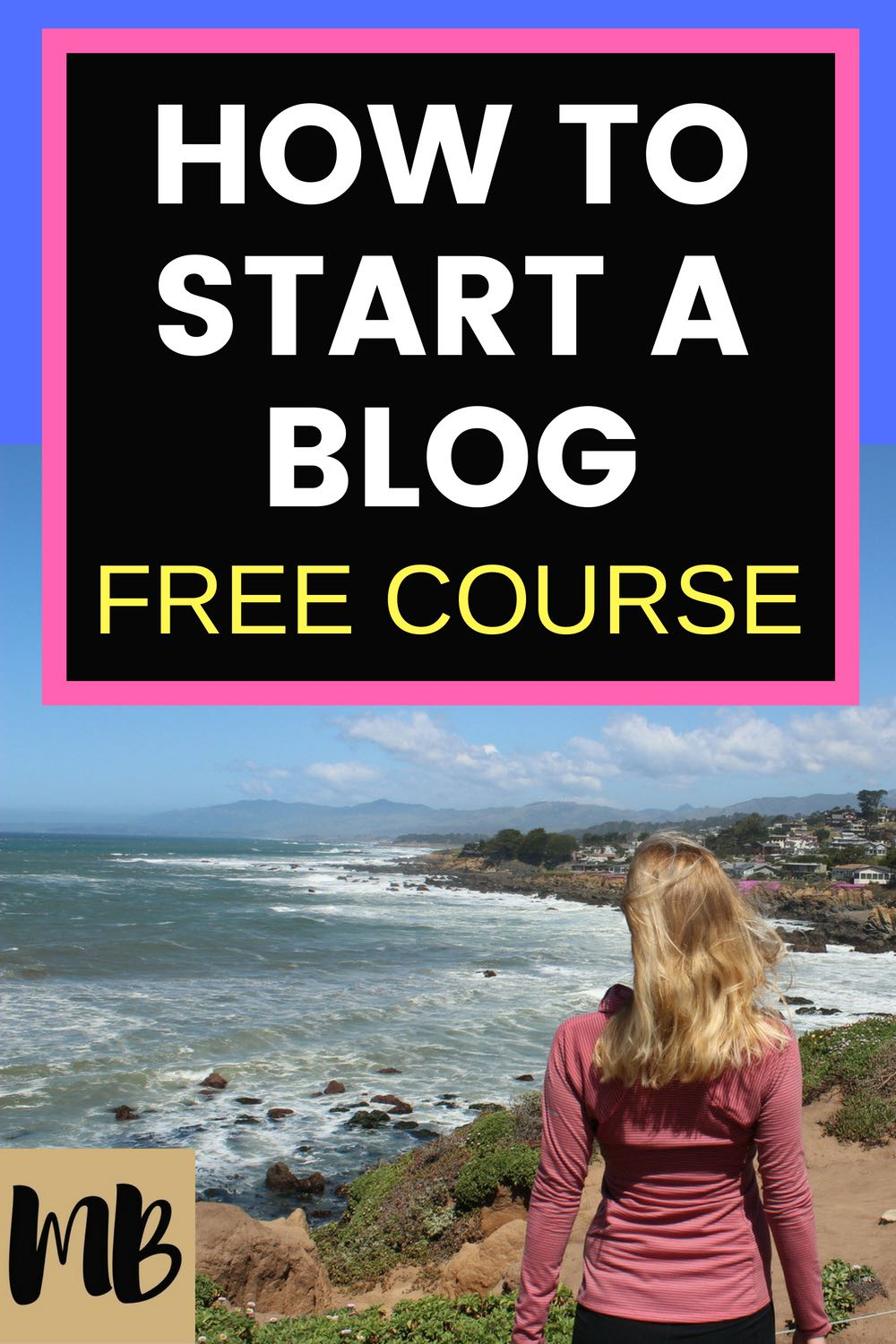 I made $25k last year with blogging | How to Start a Blog Free Course #blogging