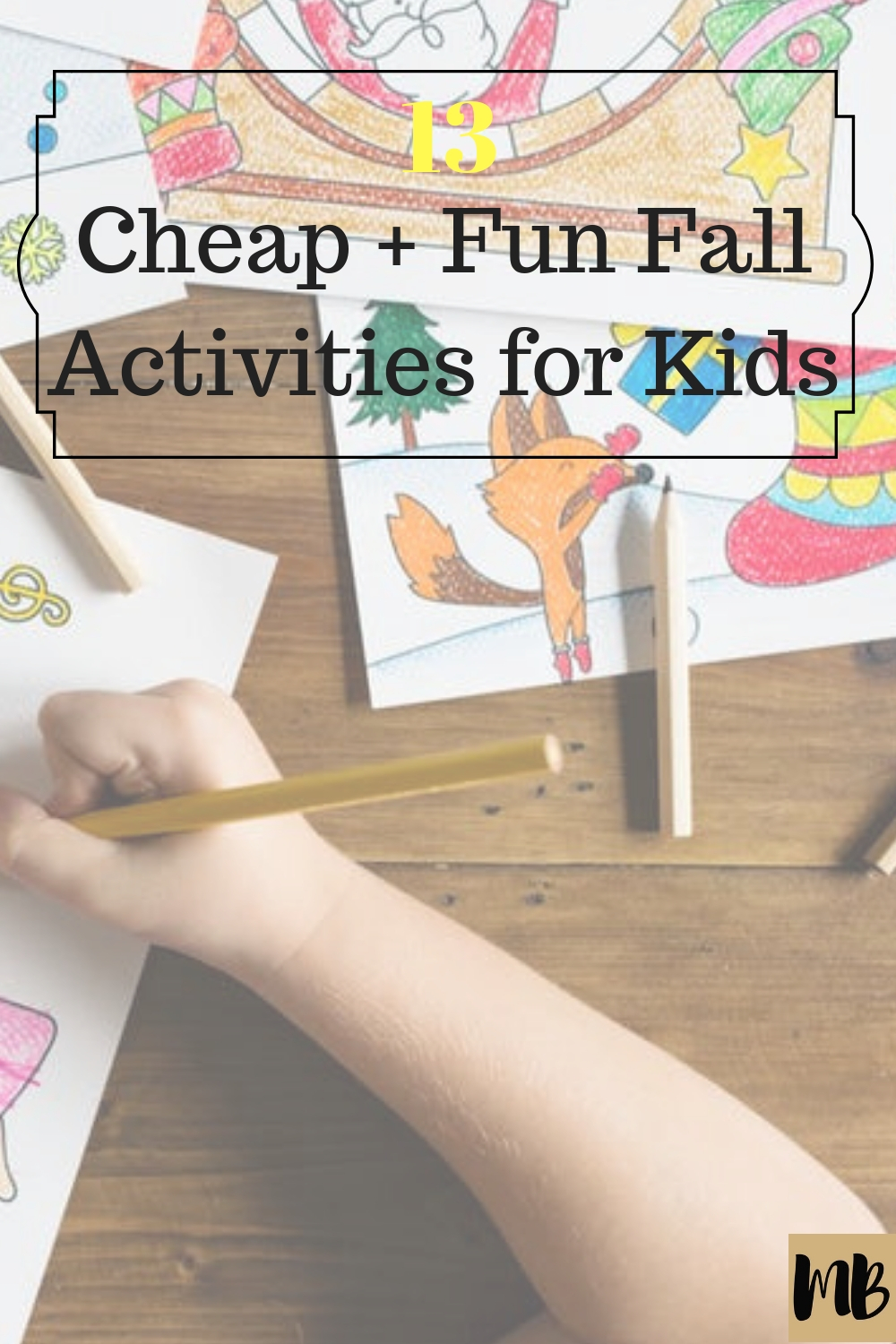 Fall Activities for Kids Cheap Easy