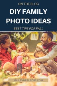 DIY FAMILY PHOTO IDEAS