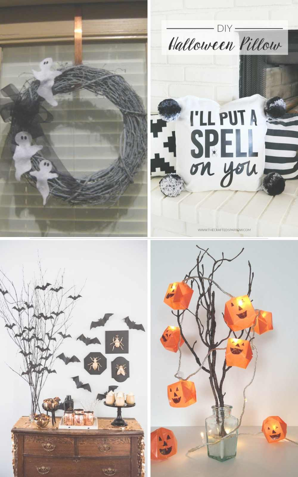 Cheap DIY halloween decorations #halloween #homedecor #decorations #diy