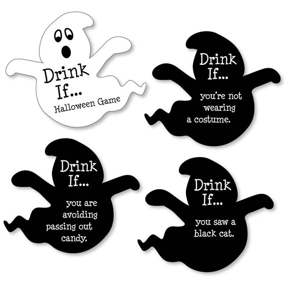 drink if halloween adult party game