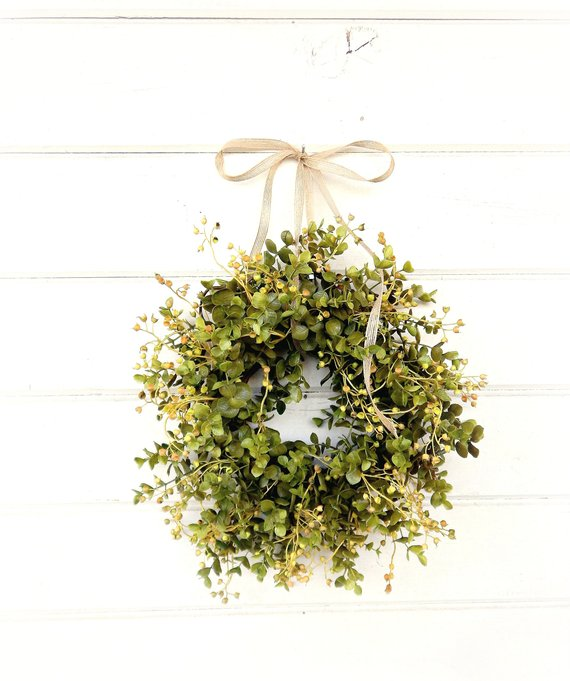 Eucalyptus Wreath Etsy Front Door Wreath Cheap