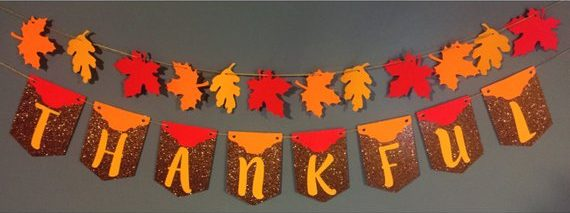 Friendsgiving Banner Cheap Decor