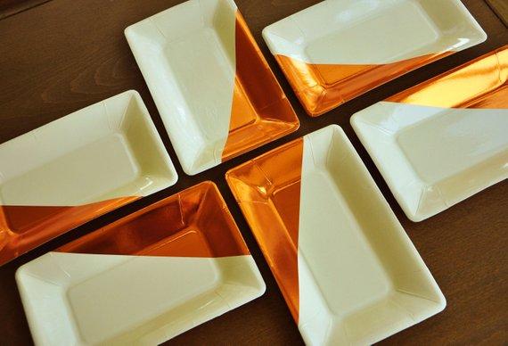 Friendsgiving Paper Plates Cheap Decor