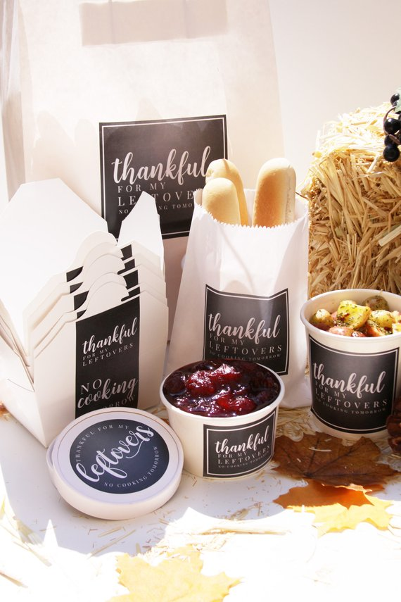Friendsgiving To Go Containers Cheap Decor