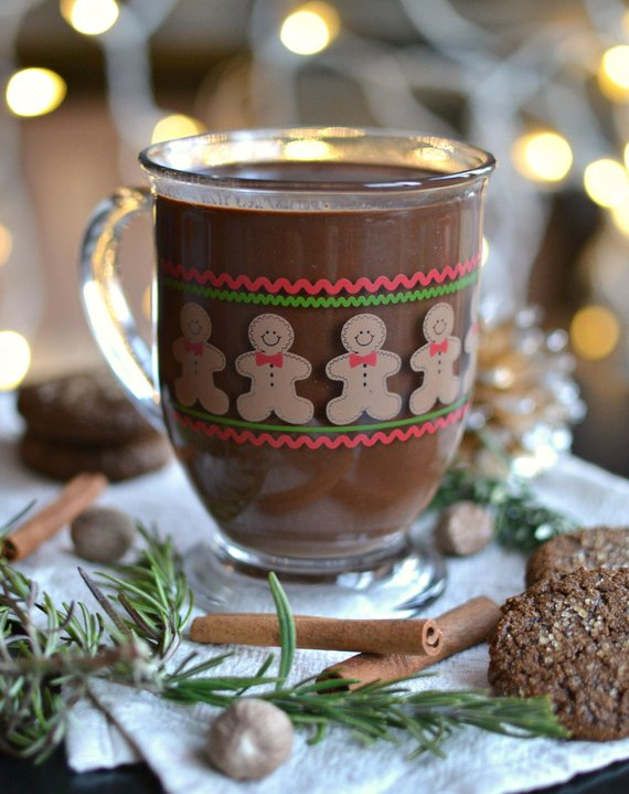 gingerbread hot chocolate diy kids crafts activities fall