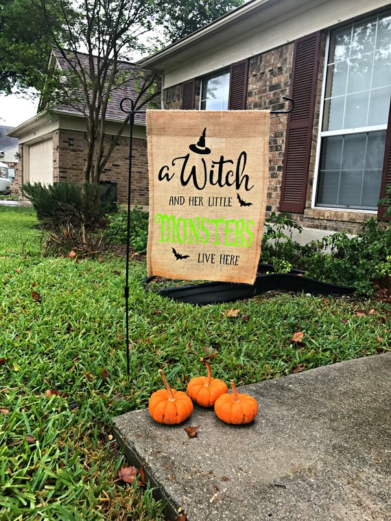 halloween yard banner fall decoration october