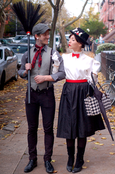 Mary poppins bert couples halloween costume diy