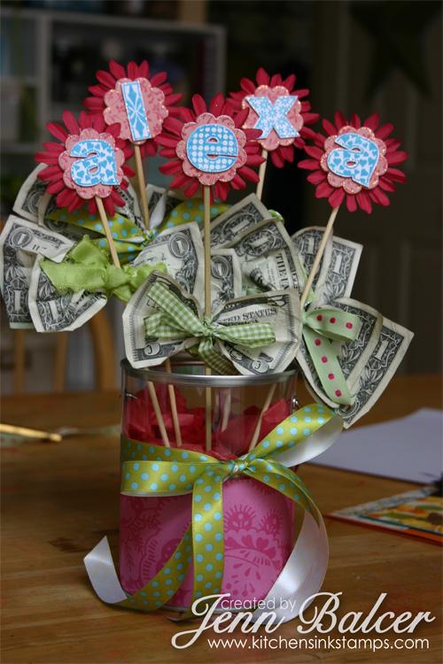 Money Bouquet Money Tree DIY