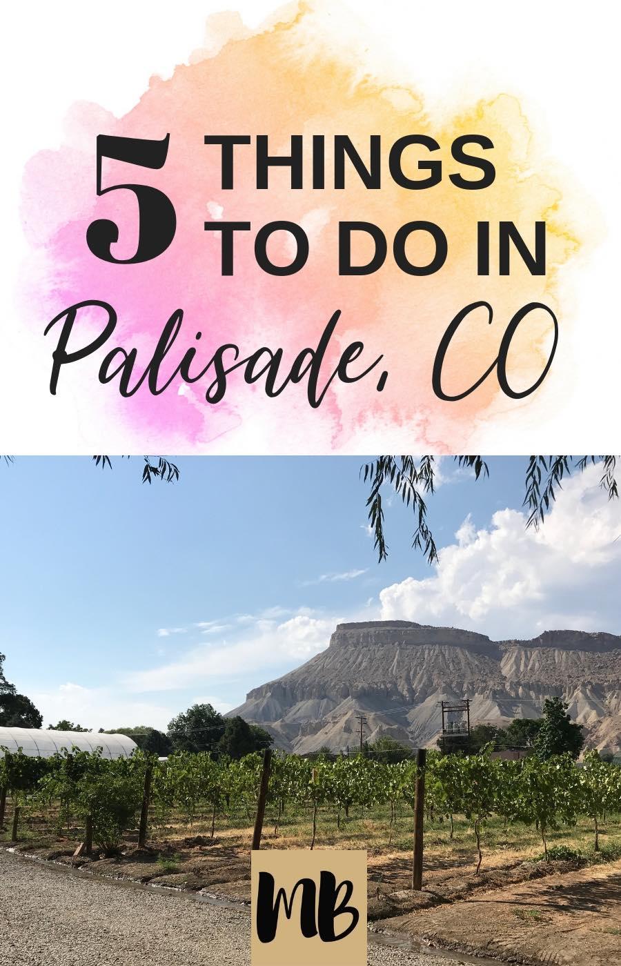 Palisade + Grand Junction Colorado  Things to Do | #palisade #colorado