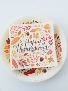thanksgiving napkins cheap decor