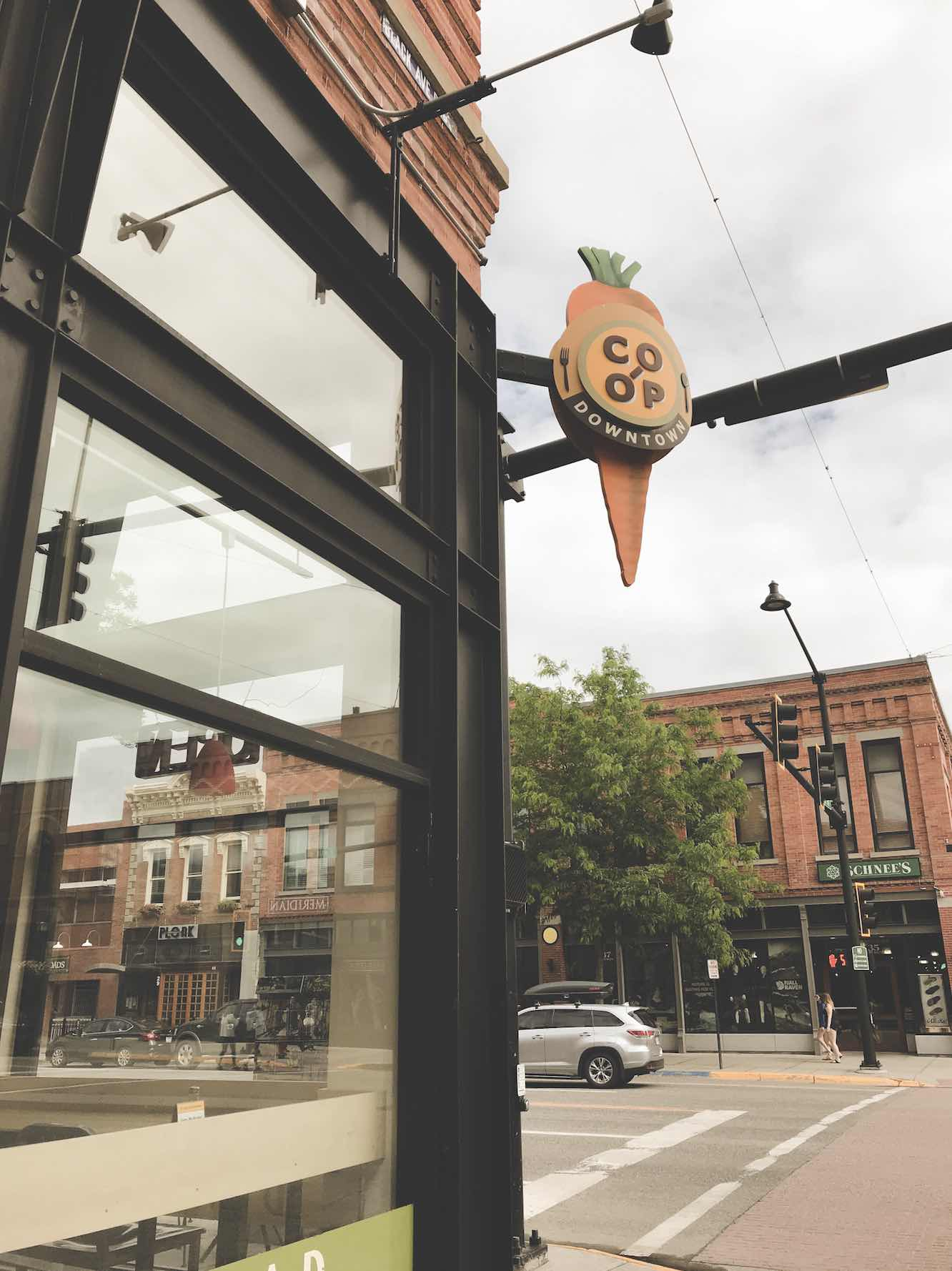Bozeman Food and Restaurants Co Op Downtown Bozeman