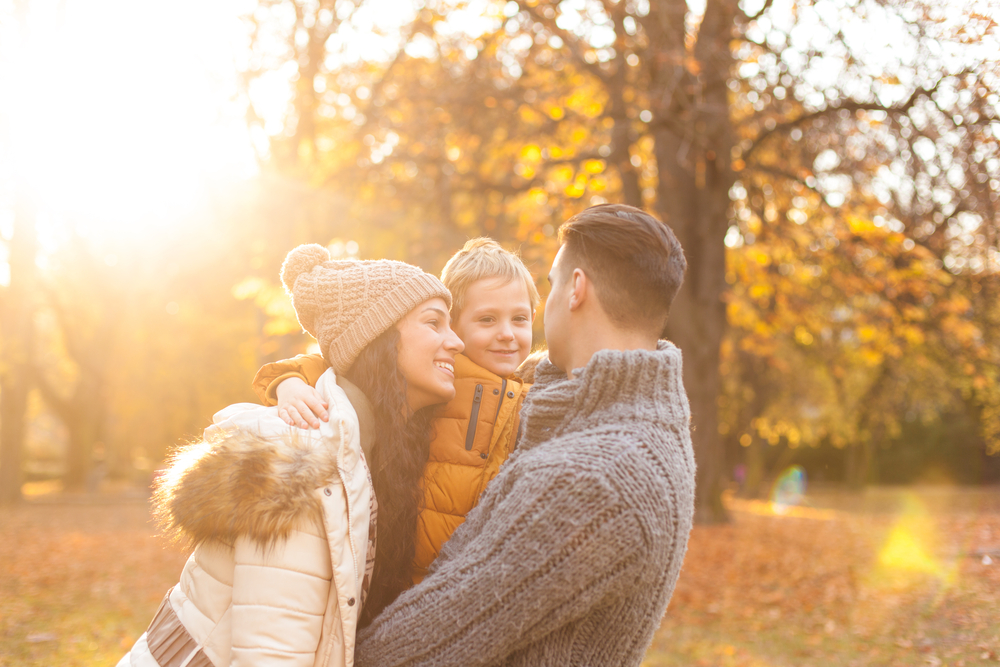 family photo park ideas