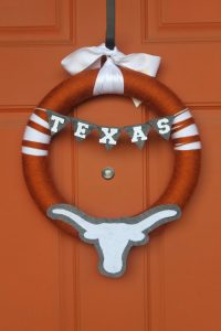 The cutest Football Fall Wreath ! We Love this
