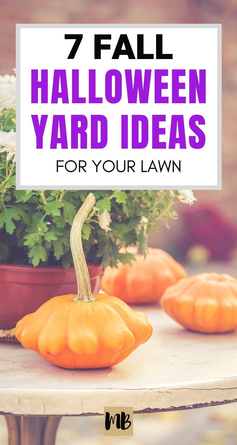 Halloween yard ideas for your front lawn