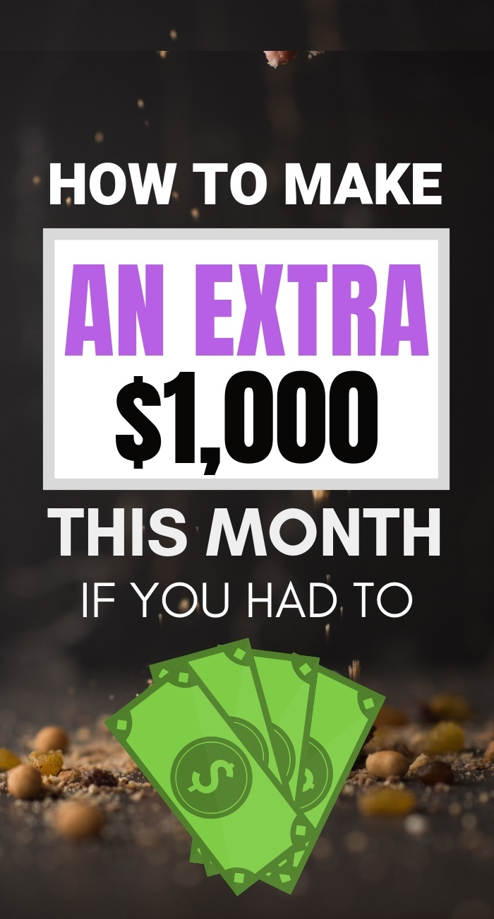 Make extra money this month if you had to with these 7 Tips #makemoney #financialfuture #workathome #wfh #workathomejobs