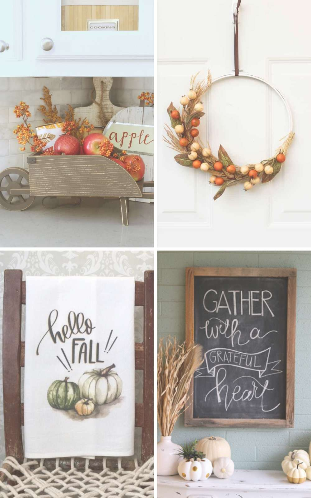 Top 8 Fall Kitchen Decor Ideas We Love #kitchen #falldecor #fall #home #homedecor
