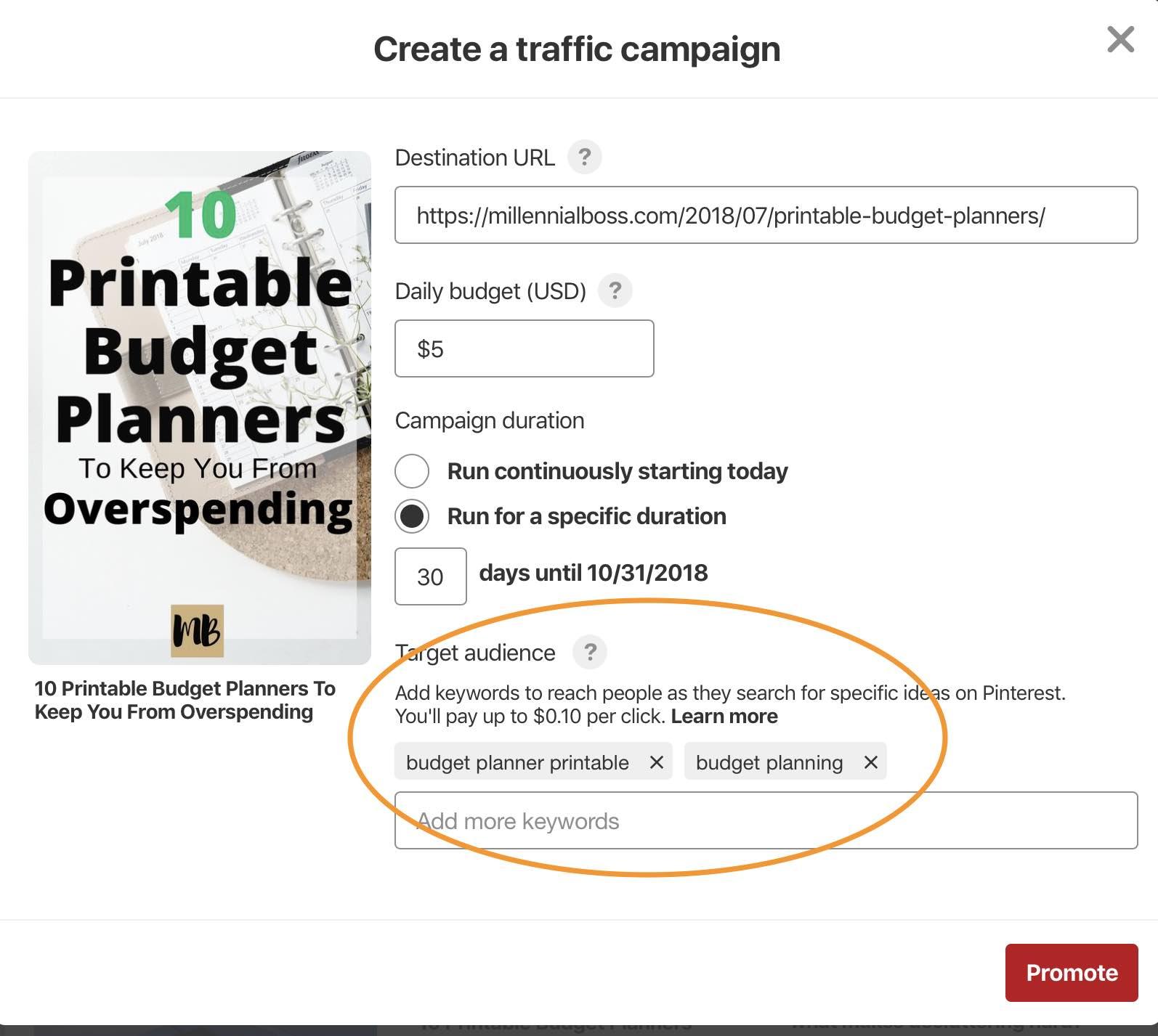 Pinterest-cost-per-click